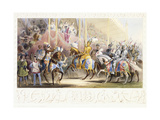 The Presentation of the Knight  1843