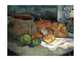 Still-Life with Gourds  1889
