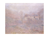 Houses at Falaise in the Fog  1885