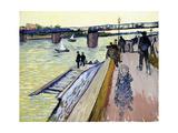 Le Pont De Trinquetaille  1888