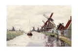 Windmill in Holland  1871