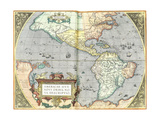 The Americas  1592