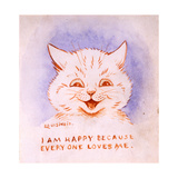 I Am Happy Because Everyone Loves Me  C1928