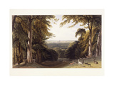 Windsor Castle from the Deer Park  C1827-1829