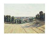 Hilly Landscape in La Creuse  C1900