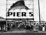 Pier 5 in Bayfront Park  Miami  1930S