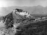 Potala Palace, Lhasa, C.1920-1 Papier Photo