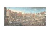 Norwich Market Place  1799
