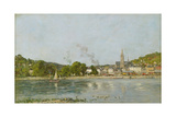 The Seine at Caudebec-En-Caux  1889