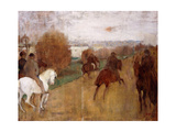 Horse Riders on a Road  1864-68