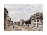 Street Scene at Marly  1876