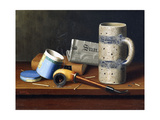 Still-Life with Blue Tobacco Box  1878