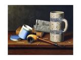 Still-Life with Blue Tobacco Box  1878