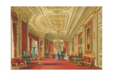 The Crimson Drawing Room  Windsor Castle  1838