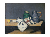 Still Life with a Tin Kettle  1869