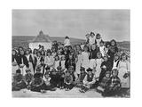 Inhabitants of Aranmore  Ireland  C1895