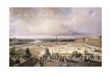 Place De La Concorde  Paris  1853