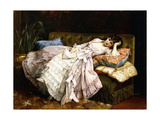 A Reclining Beauty  1877