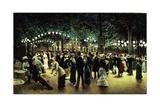 Le Bal Public  1880
