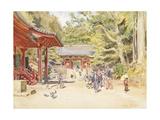 A Street Scene  Japan