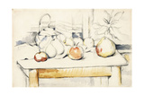 Ginger Jar and Fruit on a Table  1888-90