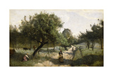Path with Apple Trees  1850-60