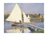 Boaters at Argenteuil  1874