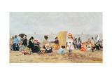 Beach Scene  Trouville  1881