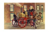 London Fire Engine of C 1860