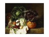 Still Life of Winter Vegetables