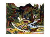 Landscape in Spring  Sertig  1924-25