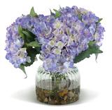 Hydrangeas - Blue Violet Bouquet