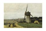 Etretat-A Windmill