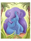 Elephant Mommy and Baby I