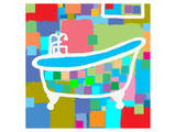 Colorful Bath I