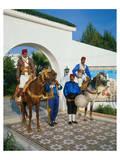 Folkloric show  Tunisia
