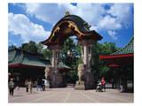 Elefant Gate Zoo Berlin
