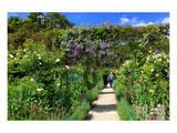Claude Monet's Garden in Giverny  Department of Eure  Upper Normandy  France