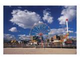 Amusement park Coney Island  Brooklyn  New York City  New York  USA