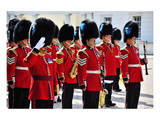 Royal Guards  London  South of England  United Kingdom of Great Britain