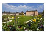 Schwetzingen Palace with Baroque Gardens  Schwetzingen  Baden-Wuerttemberg  Germany