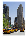 Flatiron Building on Fifth Avenue  Manhattan  New York City  New York  USA