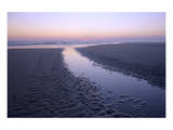 Morning light on the beach  Langeoog  East Frisian Islands  Lower Saxony  Germany