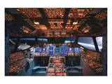 Columbia Space Shuttle Cockpit