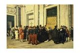 Entrance Hall of Santa Maria Maggiore  Ca 1865