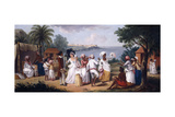 A Negro's Dance in the Island of Dominica  Fort Young Beyond