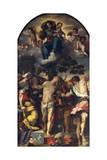 Martyrdom of St Sebastian  1558  Altarpiece