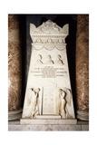 Cenotaph  1817-1819  White Marble Stele