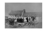 Eviction on the Olphert Estate  Falcarragh  County Donegal  Ireland  1888