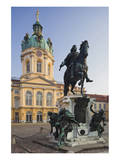 Equestrian sculpture of Friedrich Wilhelm I in the Court of Honour of Charlottenburg Palace